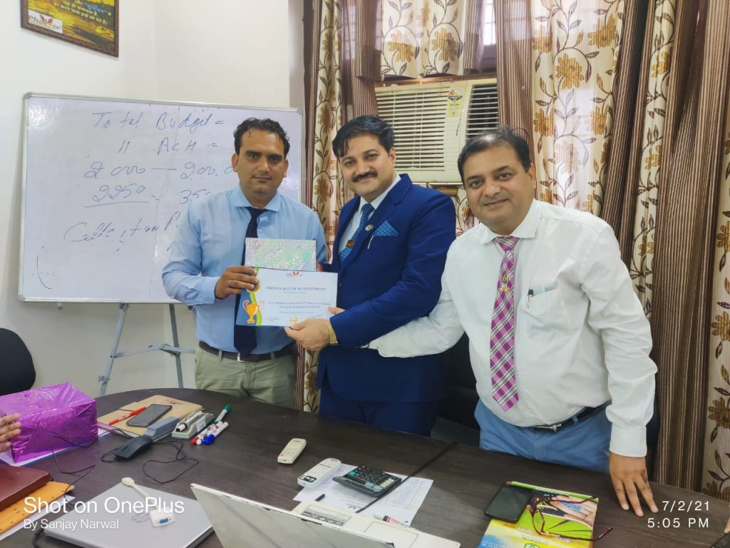 Mahesh Gautam-achiever-Phoenix Life Science pvt ltd
