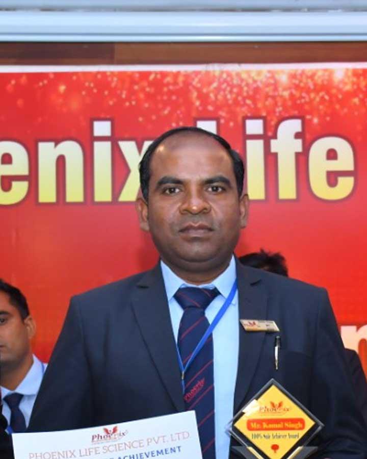 Kamal Singh achiever phoenix life science pvt ltd- Kasganj