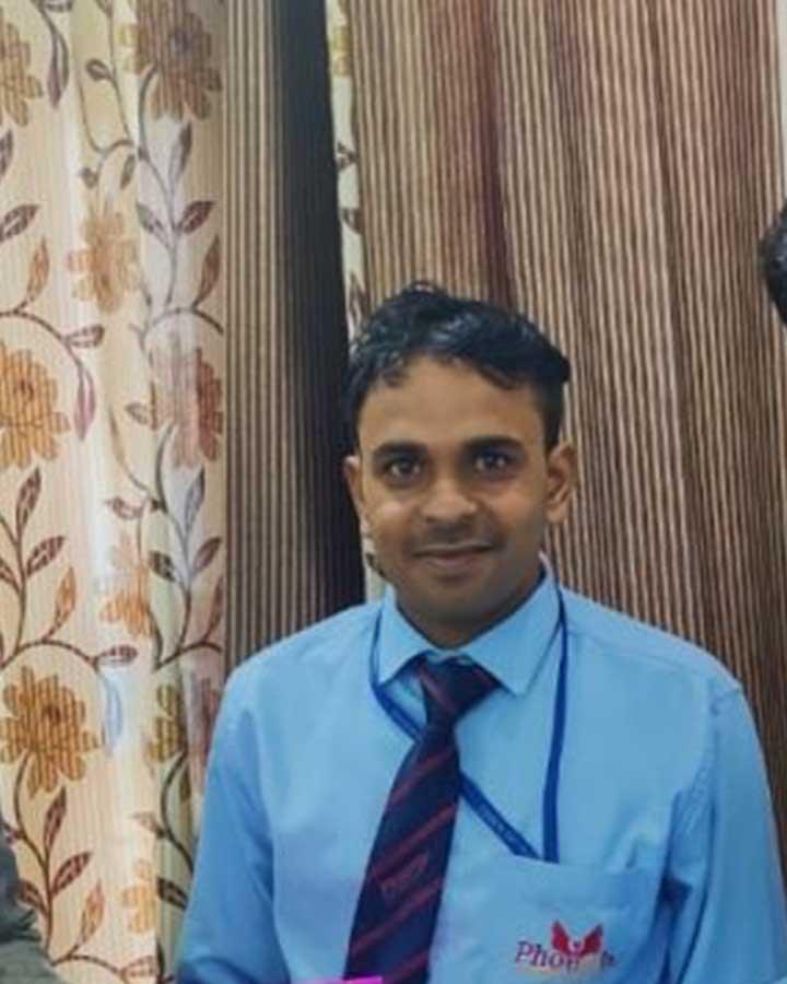 Rohtash Singh achiever Phoenix Life Science Pvt. Ltd.- Tohana