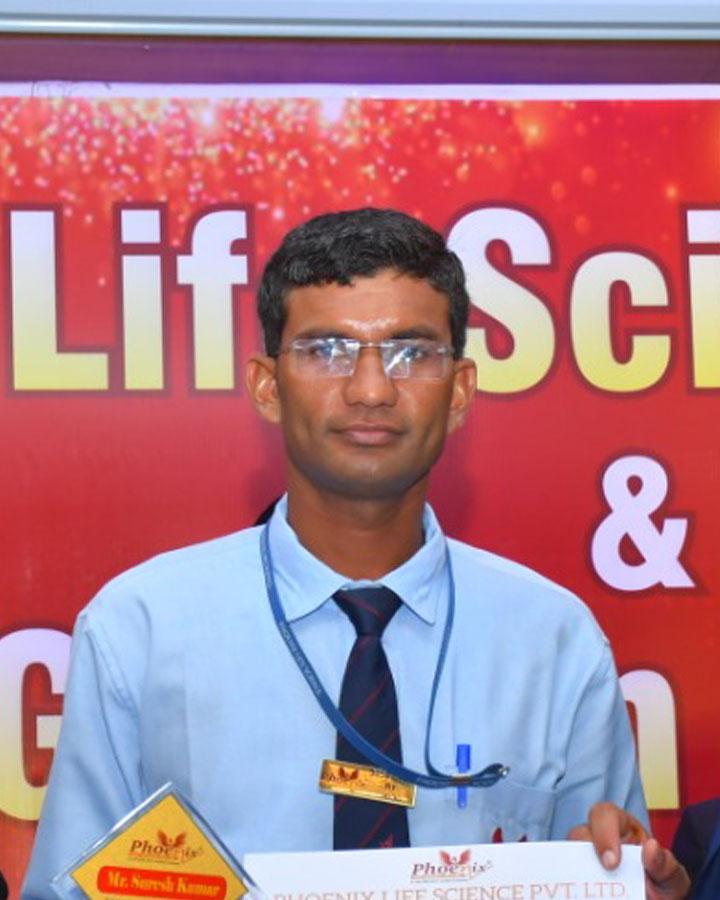 Suresh kumar achiever phoenix life science pvt ltd - Ajmer